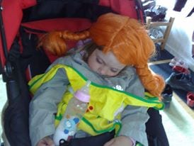 Pippi Party can be exhausting!