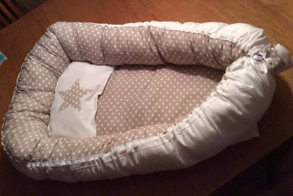 Babynest is a great gift for newborns that you can sew for yourself